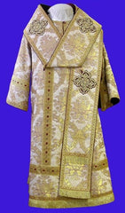 Gold Brocade Bishop Vestment