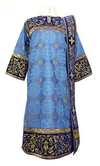 Blue Deacon Vestment
