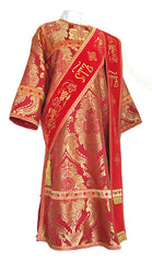 Red Deacon Vestment