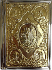 Mission Gospel Cover (Brass, Nickel, or Gold plate)