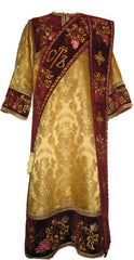Gold Deacon Vestment