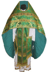 Metallic Brocade Priest Vestment