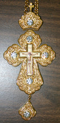 Gold Filigree Pectoral Cross