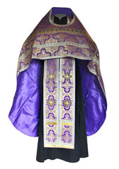 New Purple Brocade