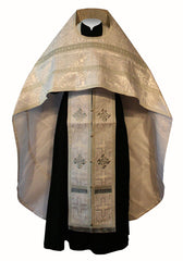 White Brocade Vestment