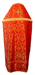 Red Brocade Vestment