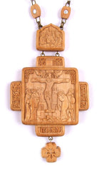 Wood Carved Pectoral Cross