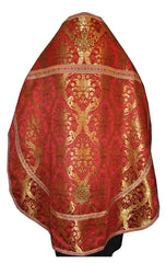 Priest Red Brocade Vestment