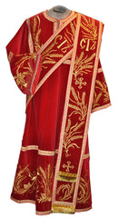 Embroidered Deacon Vestment