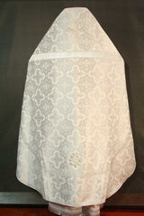 White Brocade Priest Vestment