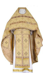 Gold Brocade Priest Vestment