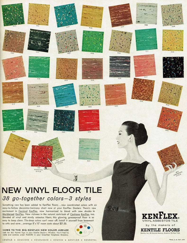 Asbestos Tile The Colors Hand Eye Supply