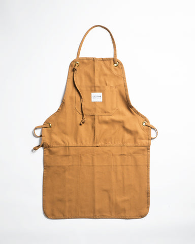 Hand-Eye USA Made Work Apron Hickory Stripe