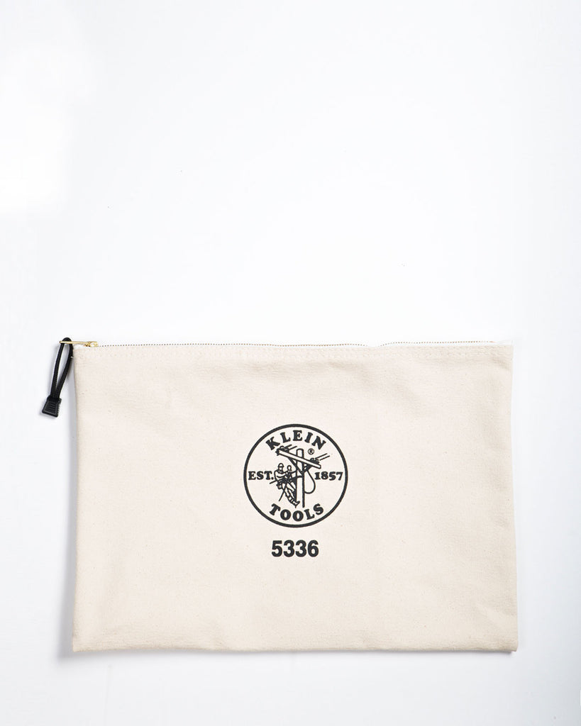 "Klein Tools 17"" Canvas Zipper Bag 5336"