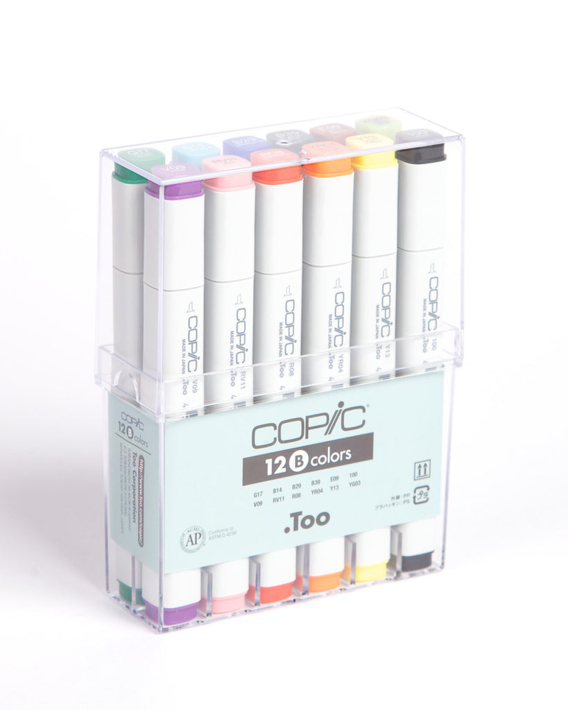 Copic 12pc Basic Set