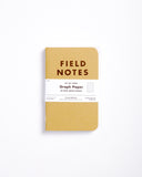Field Notes Pack of 3 - Graph