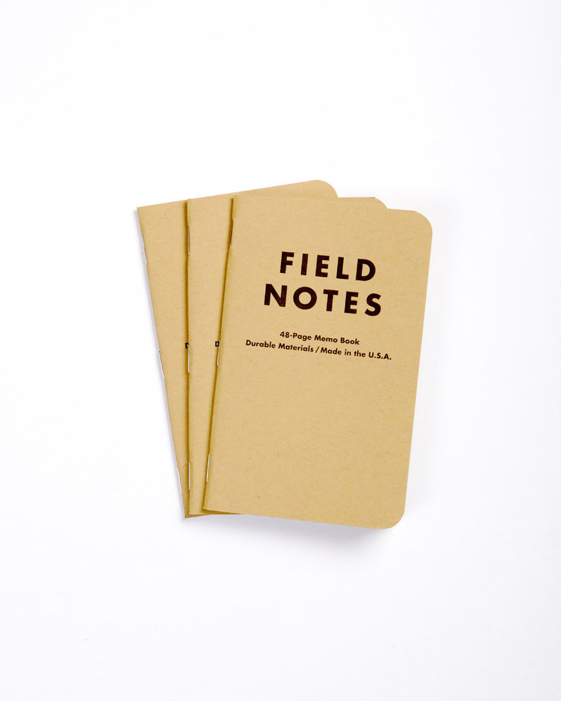 Field Notes Pack of 3 - Mixed
