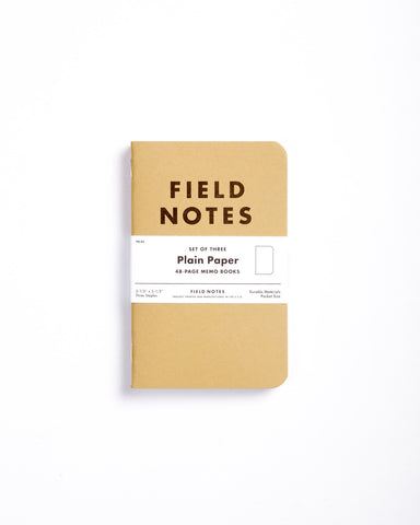 Field Notes Pack of 3 - Ruled