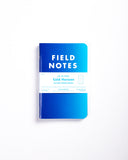 Field Notes Pack of 3 - Cold Horizon Edition