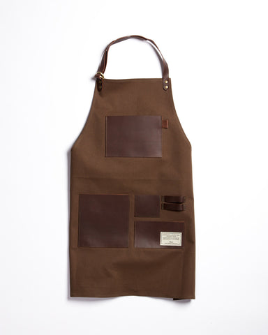 Hand-Eye Kitchen Apron Black Canvas