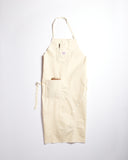 Pointer White Drill Shop Apron