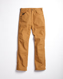 Hand-Eye x L.C. King Slim Fit Work Jean Brown Duck