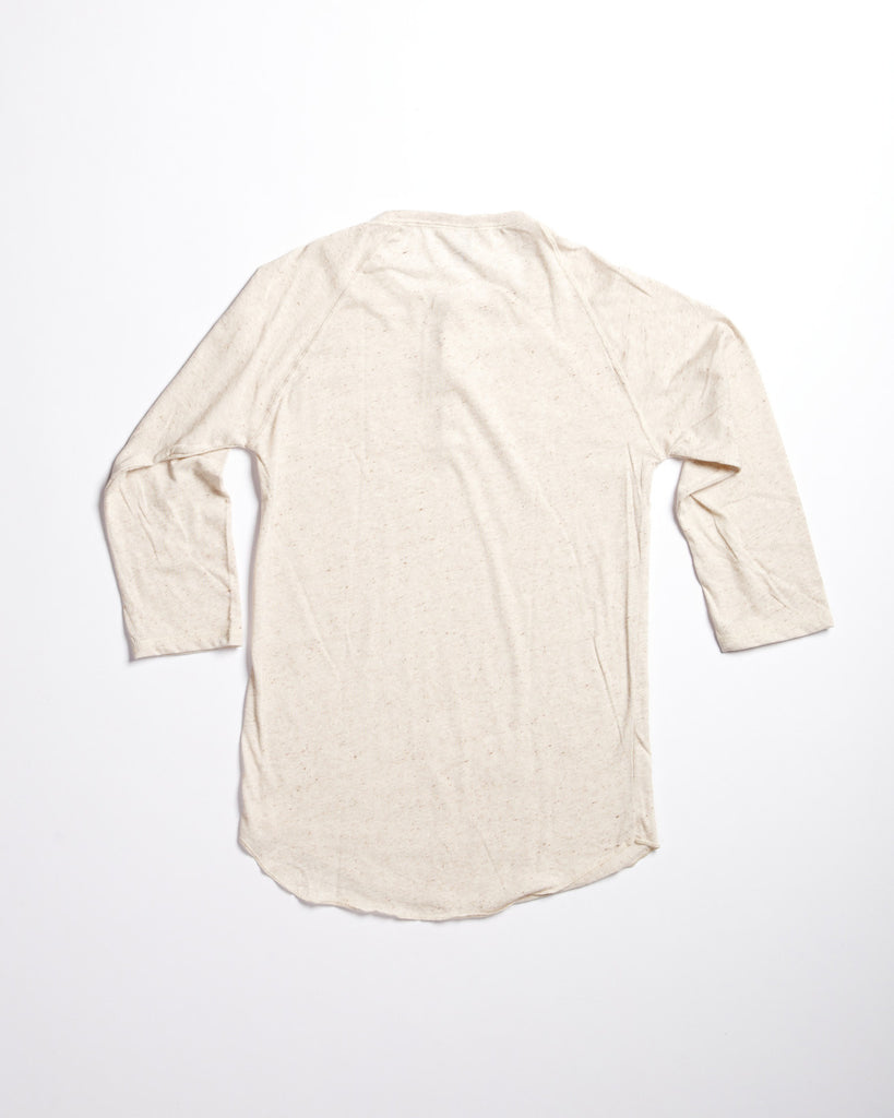 Tri-Blend Basic Henley Natural