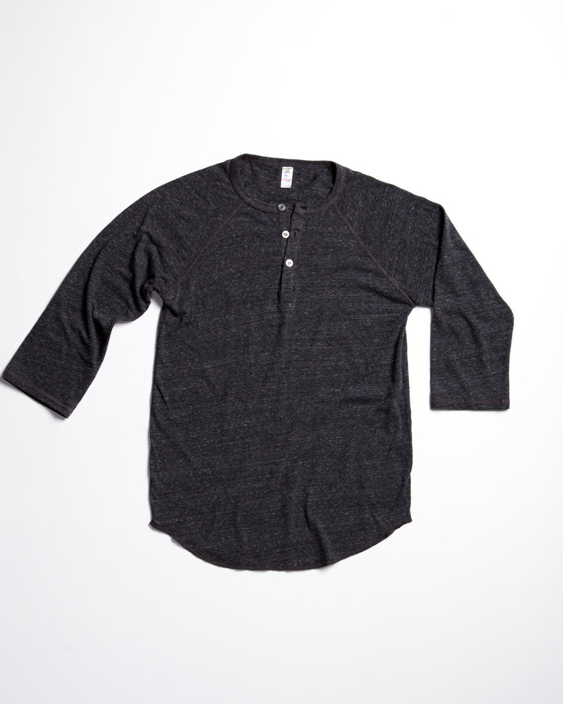 Tri-Blend Henley Double Deal