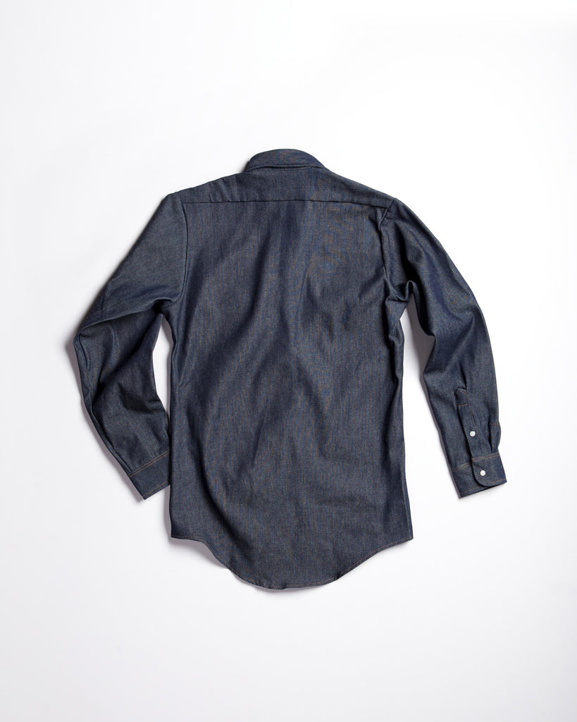 Red Kap Long Sleeve Workshirt Denim