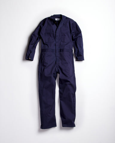 Universal Cotton Coveralls Herringbone Button