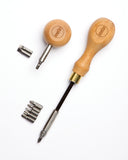 Elemen'tary Design No. 1 and No. 2 Screwdriver Set with Interchangeable Bits