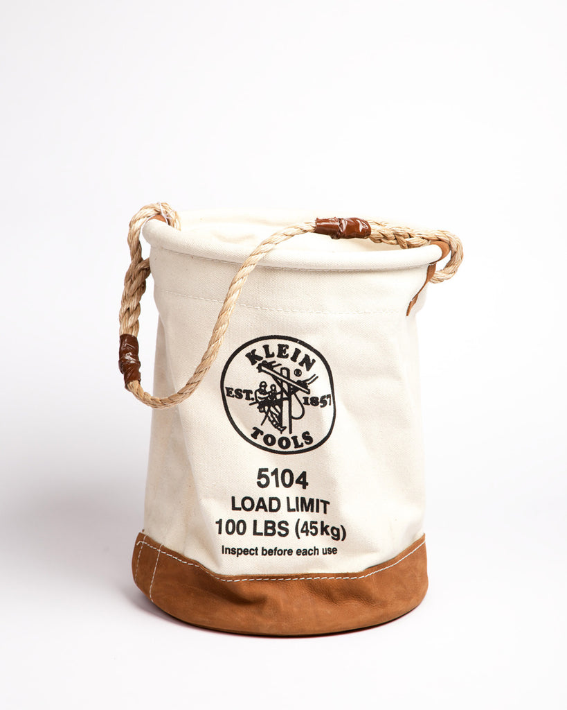 Klein Tools Leather Bottom Bucket
