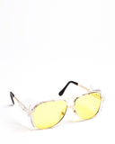 Aviator Safety Spectacles Amber
