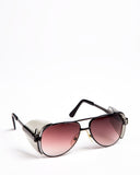 Aviator Safety Spectacles Gradient Brown