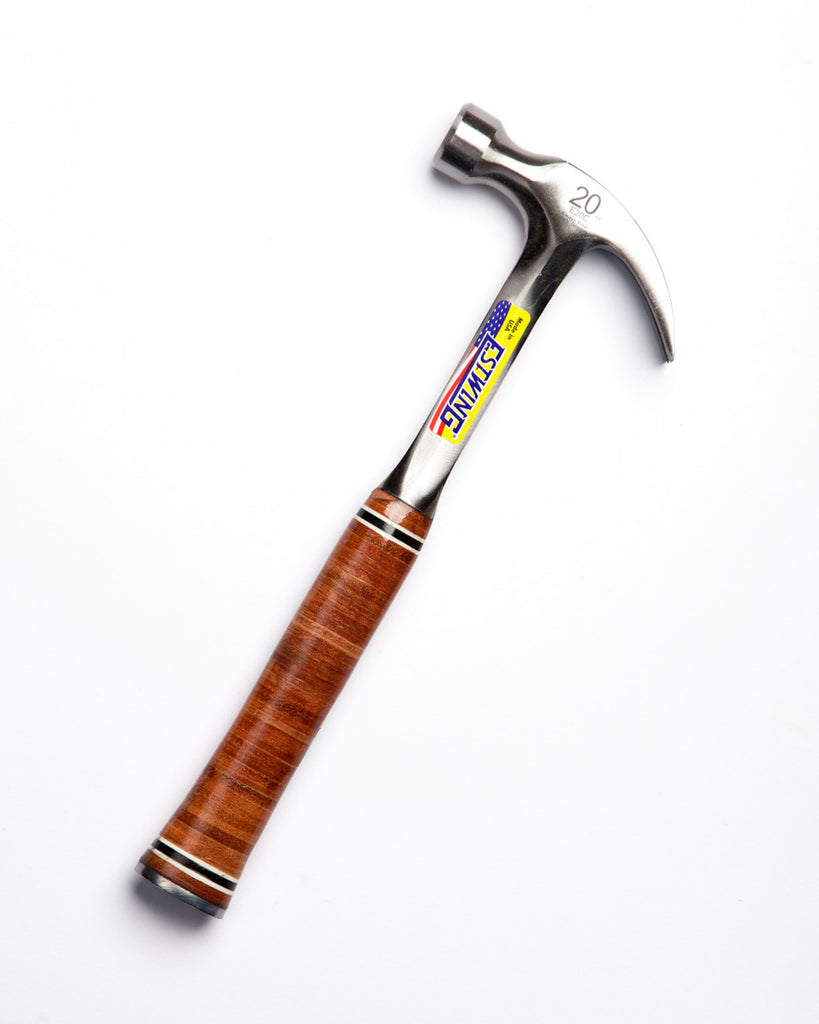 Estwing Claw Hammer Leather Grip