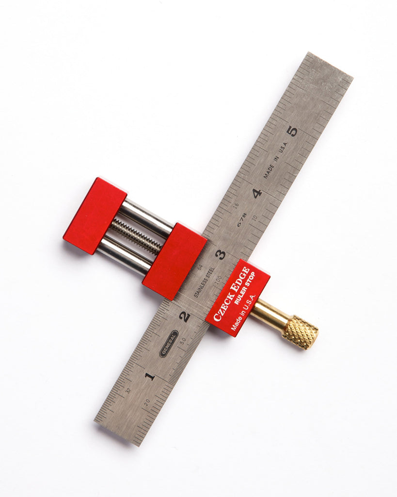 Czeck Edge Ruler Stop