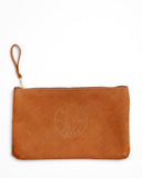 Klein Top-Grain Leather Zipper Bag