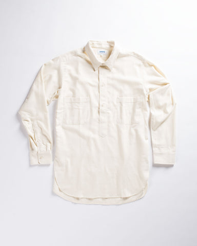 Harrow Town Collar Flap Pockets Shirt