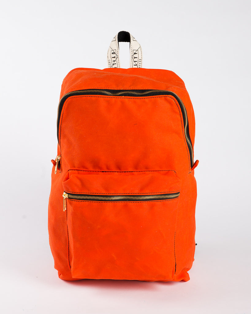 Utility Canvas Waxed Canvas Backpack