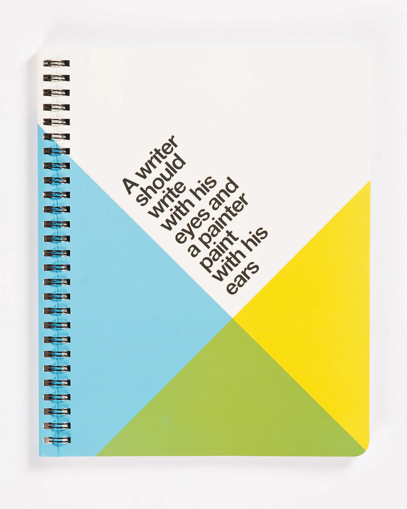 Ogami Spiral Quote Notebook Writer