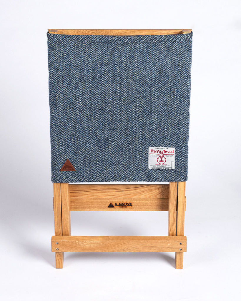 A.Native Lounge Chair Harris Tweed