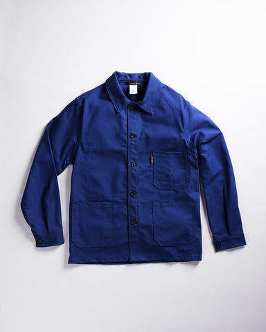 Le Laboureur Moleskin Work Jacket Ecru