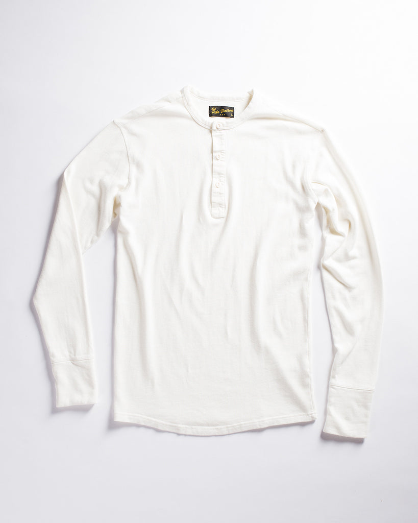 Pike Brothers 1954 Long Sleeve Utility Shirt Ecru