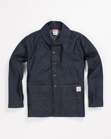 Harrow Town Cotton Over Coat Midnight