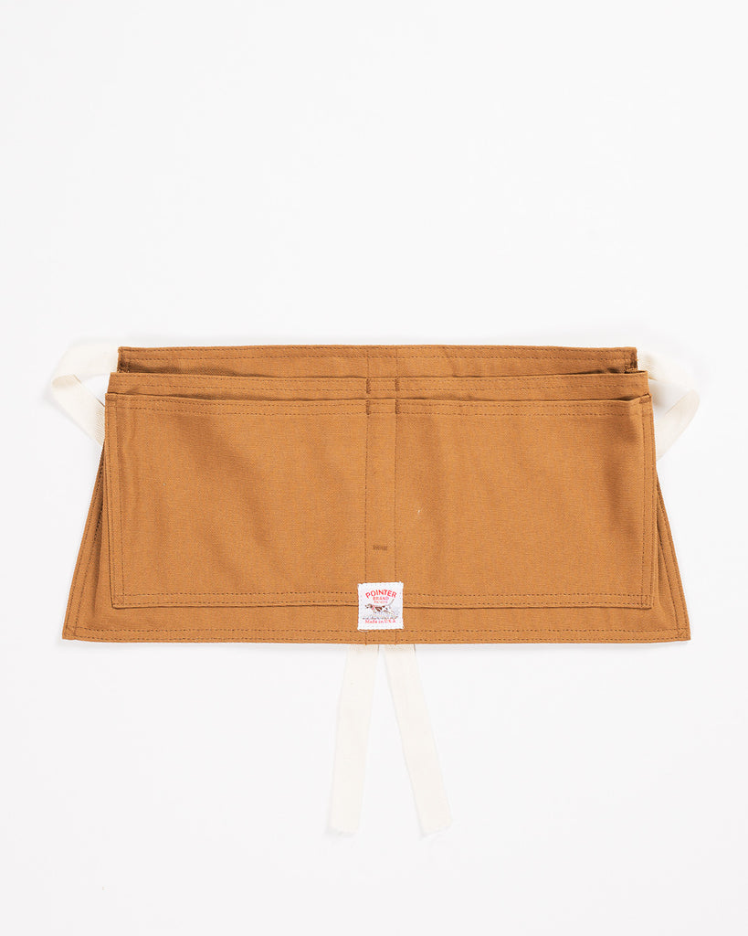 Pointer Waist Apron Brown Duck