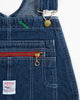 Pointer Washed Indigo Denim High Back Overalls