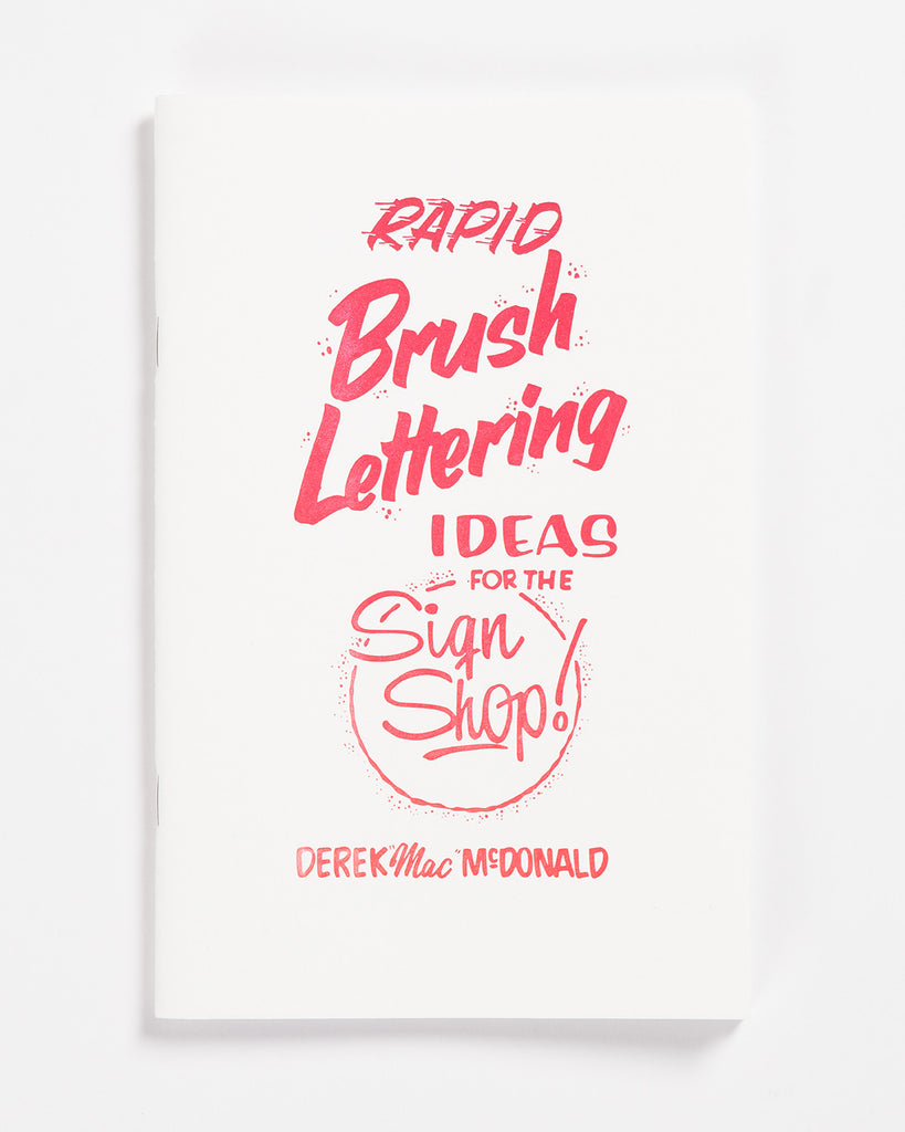 Rapid Brush Lettering by Derek McDonald