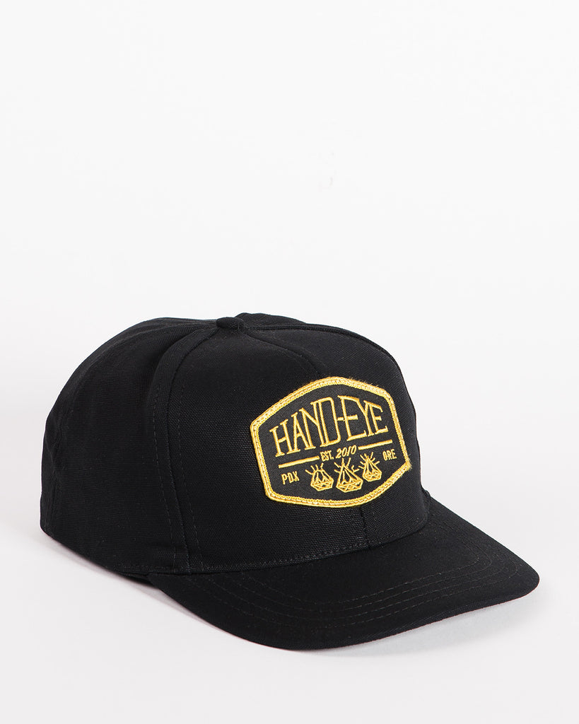 Hand-Eye USA Made Cap Black Duck