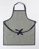 Hand-Eye Kitchen Apron Denim Double Stripe