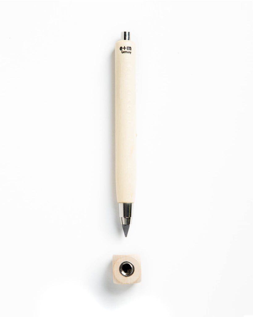 E+M Long Workbox Clutch Pencil & Sharpener Set